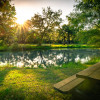 Bass Pond Full RV hookup site