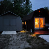Secluded cabin with generator