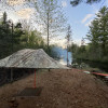 A Tree Tent on the Bad River