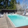 Vintage 20' trailer with pool oasis