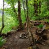 Waterfall camp
