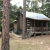 Log Cabin in Woods