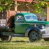 Vintage vehicle campsite