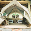 Glamping Tent Nestled in the Forest