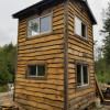 Leaning Birch Tree House