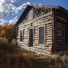 High Alpine Miner's Cabin