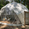 Forest Dome with Hanging Bed!