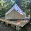 Canvas Bell Tent Ranch Glamping