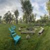Ranch camping with seasonal stream