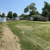 Quiet driveway near playground