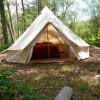 2 person canvas yurt