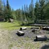Grass Campsite near GLACIER PARK