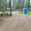 K-M GLACIERs: TENT SITES/Campground