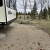 Lodge camper at McVille dam