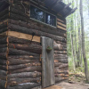 Maple, the tiny cabin by the river