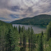 Gem of a campsite over Mirror Lake!