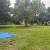 Big yard to camp on.