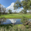 Pond and farm views