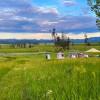 2 Bedroom Cabin Tent in Meadow