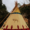 Glamping in Wolf Pack Tipi