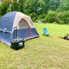 Tent sites by Tyler State Park