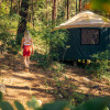 Lake Glamping with Private Beach