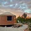 Desert yurt with spectacular views