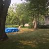 Camping on beautiful land.