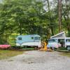 Creekside Shaded VW Camper Van