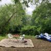 Riverside Camping Solitude