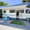 Suburban Luxury RV and pool
