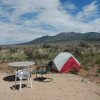 Sweet Tent Site 27 miles from Moab