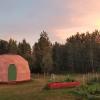 Hempcrete Geodesic Dome