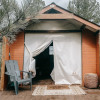 Off Grid Forest Glamping Cabin