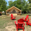 Lake front glamping tent A/C AMLF#5