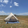 Glamping Tent with Mountain Views
