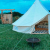 Giant Canvas Teepee Glamping