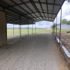Covered shed for rv and vehicles