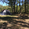 Tent camp drive up