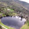 Sacred circle on Anahata lake