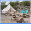 Glamping Stout Tent in Cave Creek