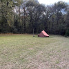 Canvas Tent and Fire Pit