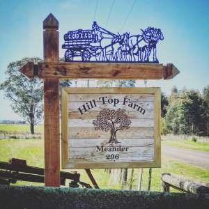 Hill Top Farm Meander Tasmania