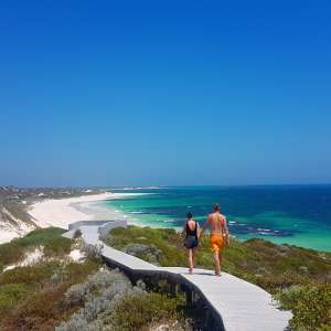 By the beach Jurien Bay