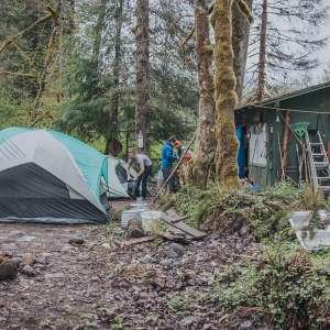 Boundary Bridge Camping