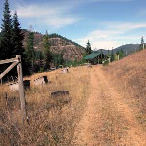 """Private Idaho"" 140ac mountain"