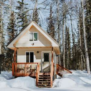 Talkeetna Tiny House Cabin RV