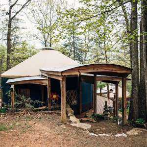 Why be Square?! Blue Ridge Yurt