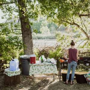 North Fork Tipi Haven & camping