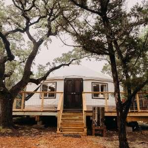 Luxury Yurt at The Cedars Ranch